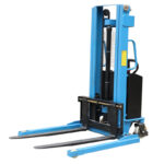 EMS1016 Semi-Electric Stacker With Adjustable Fork