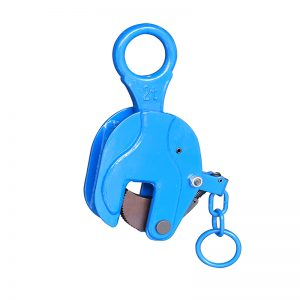 ICDH08 vertical plate clamp with lock handle