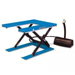 """HU1000 """"U""""shape low profile stationary lift table"""